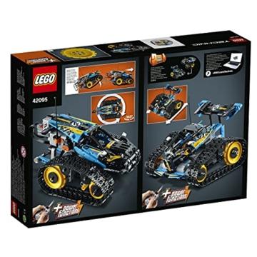 LEGO 42095 Technic Ferngesteuerter Stunt-Racer Spielzeug, 2-in-1-Rennwagen, Modell mit Motorfunktionen, Rennwagen-Kollektion - 17