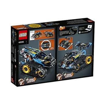 LEGO 42095 Technic Ferngesteuerter Stunt-Racer Spielzeug, 2-in-1-Rennwagen, Modell mit Motorfunktionen, Rennwagen-Kollektion - 7