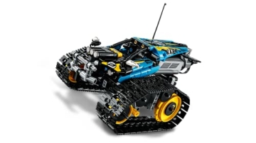 LEGO 42095 Technic Ferngesteuerter Stunt-Racer Spielzeug, 2-in-1-Rennwagen, Modell mit Motorfunktionen, Rennwagen-Kollektion - 8
