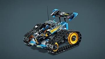 LEGO 42095 Technic Ferngesteuerter Stunt-Racer Spielzeug, 2-in-1-Rennwagen, Modell mit Motorfunktionen, Rennwagen-Kollektion - 9