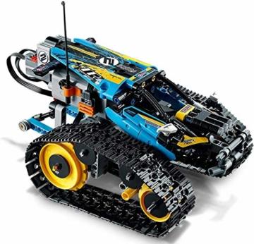LEGO 42095 Technic Ferngesteuerter Stunt-Racer Spielzeug, 2-in-1-Rennwagen, Modell mit Motorfunktionen, Rennwagen-Kollektion - 10