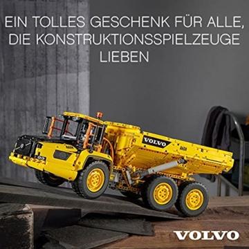 LEGO 42114 Technic Knickgelenkter Volvo-Dumper (6x6), ferngesteuertes Auto, Konstruktionsfahrzeug für Kinder und Erwachsene - 2