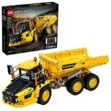 LEGO 42114 Technic Knickgelenkter Volvo-Dumper (6x6), ferngesteuertes Auto, Konstruktionsfahrzeug für Kinder und Erwachsene - 1