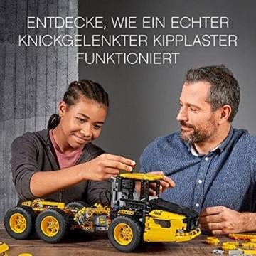 LEGO 42114 Technic Knickgelenkter Volvo-Dumper (6x6), ferngesteuertes Auto, Konstruktionsfahrzeug für Kinder und Erwachsene - 3