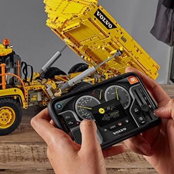 LEGO 42114 Technic Knickgelenkter Volvo-Dumper (6x6), ferngesteuertes Auto, Konstruktionsfahrzeug für Kinder und Erwachsene - 5