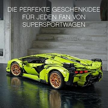 LEGO 42115 Technic Lamborghini Sián FKP 37 Rennwagen, Bauset für Erwachsene, Modellbausatz, Sammlerstück - 2
