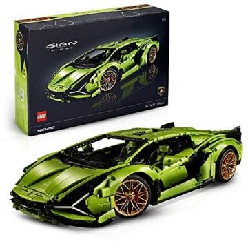LEGO 42115 Technic Lamborghini Sián FKP 37 Rennwagen, Bauset für Erwachsene, Modellbausatz, Sammlerstück - 1