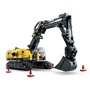 LEGO 42121 Technic Hydraulikbagger Bauset, 2-in-1 Modell, Baufahrzeug, Bagger Spielzeug ab 8 Jahren, Konstruktionsspielzeug - 2