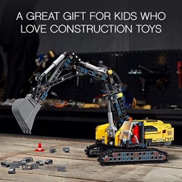 LEGO 42121 Technic Hydraulikbagger Bauset, 2-in-1 Modell, Baufahrzeug, Bagger Spielzeug ab 8 Jahren, Konstruktionsspielzeug - 15