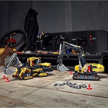LEGO 42121 Technic Hydraulikbagger Bauset, 2-in-1 Modell, Baufahrzeug, Bagger Spielzeug ab 8 Jahren, Konstruktionsspielzeug - 18