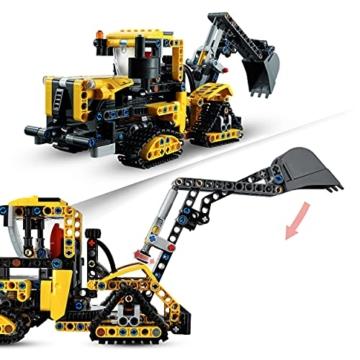 LEGO 42121 Technic Hydraulikbagger Bauset, 2-in-1 Modell, Baufahrzeug, Bagger Spielzeug ab 8 Jahren, Konstruktionsspielzeug - 5