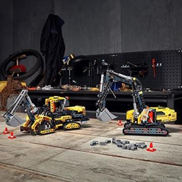 LEGO 42121 Technic Hydraulikbagger Bauset, 2-in-1 Modell, Baufahrzeug, Bagger Spielzeug ab 8 Jahren, Konstruktionsspielzeug - 7