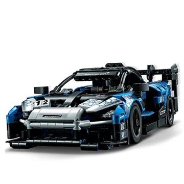 LEGO 42123 Technic McLaren Senna GTR Rennauto, Fahrzeug Bausatz, Modellauto, Geschenk für Kinder ab 10 Jahre und Erwachsene - 2