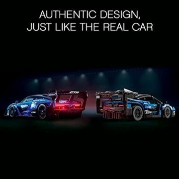 LEGO 42123 Technic McLaren Senna GTR Rennauto, Fahrzeug Bausatz, Modellauto, Geschenk für Kinder ab 10 Jahre und Erwachsene - 11