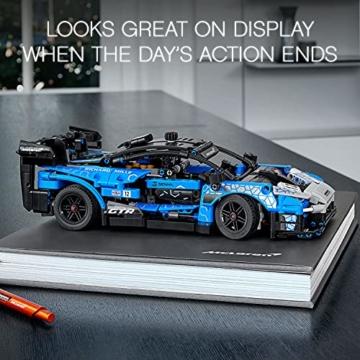 LEGO 42123 Technic McLaren Senna GTR Rennauto, Fahrzeug Bausatz, Modellauto, Geschenk für Kinder ab 10 Jahre und Erwachsene - 14