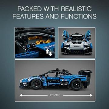 LEGO 42123 Technic McLaren Senna GTR Rennauto, Fahrzeug Bausatz, Modellauto, Geschenk für Kinder ab 10 Jahre und Erwachsene - 15