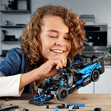 LEGO 42123 Technic McLaren Senna GTR Rennauto, Fahrzeug Bausatz, Modellauto, Geschenk für Kinder ab 10 Jahre und Erwachsene - 16