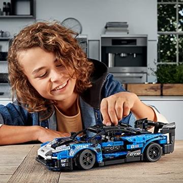 LEGO 42123 Technic McLaren Senna GTR Rennauto, Fahrzeug Bausatz, Modellauto, Geschenk für Kinder ab 10 Jahre und Erwachsene - 17