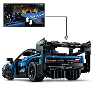 LEGO 42123 Technic McLaren Senna GTR Rennauto, Fahrzeug Bausatz, Modellauto, Geschenk für Kinder ab 10 Jahre und Erwachsene - 3