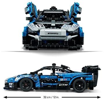 LEGO 42123 Technic McLaren Senna GTR Rennauto, Fahrzeug Bausatz, Modellauto, Geschenk für Kinder ab 10 Jahre und Erwachsene - 4