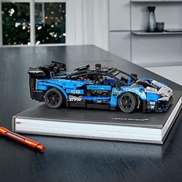 LEGO 42123 Technic McLaren Senna GTR Rennauto, Fahrzeug Bausatz, Modellauto, Geschenk für Kinder ab 10 Jahre und Erwachsene - 5