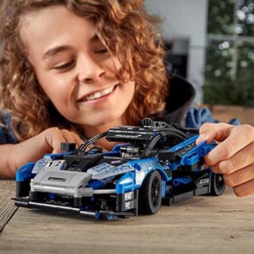 LEGO 42123 Technic McLaren Senna GTR Rennauto, Fahrzeug Bausatz, Modellauto, Geschenk für Kinder ab 10 Jahre und Erwachsene - 6