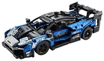 LEGO 42123 Technic McLaren Senna GTR Rennauto, Fahrzeug Bausatz, Modellauto, Geschenk für Kinder ab 10 Jahre und Erwachsene - 10
