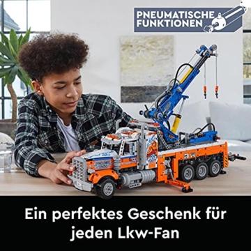 LEGO 42128 Technic Schwerlast-Abschleppwagen, Modellbauset, Technik für Kinder, Kran-Spielzeug - 2