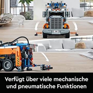 LEGO 42128 Technic Schwerlast-Abschleppwagen, Modellbauset, Technik für Kinder, Kran-Spielzeug - 3