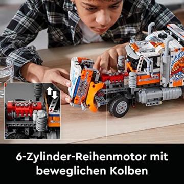 LEGO 42128 Technic Schwerlast-Abschleppwagen, Modellbauset, Technik für Kinder, Kran-Spielzeug - 4