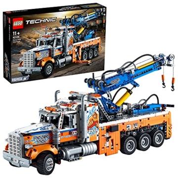 LEGO 42128 Technic Schwerlast-Abschleppwagen, Modellbauset, Technik für Kinder, Kran-Spielzeug - 1