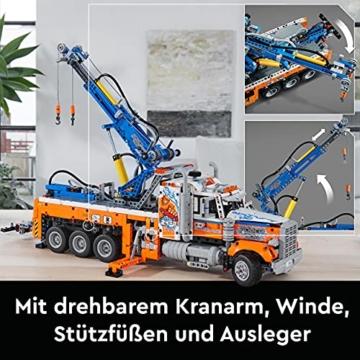 LEGO 42128 Technic Schwerlast-Abschleppwagen, Modellbauset, Technik für Kinder, Kran-Spielzeug - 5