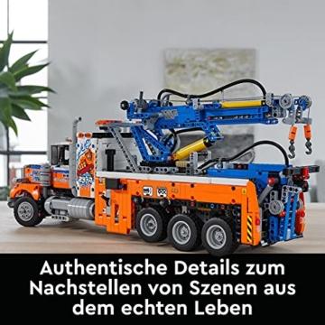 LEGO 42128 Technic Schwerlast-Abschleppwagen, Modellbauset, Technik für Kinder, Kran-Spielzeug - 6