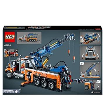LEGO 42128 Technic Schwerlast-Abschleppwagen, Modellbauset, Technik für Kinder, Kran-Spielzeug - 7