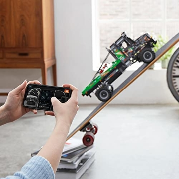 LEGO 42129 Technic 4x4 Mercedes-Benz Zetros Offroad-Truck, ferngesteuertes Auto, App-kontrolliertes LKW-Spielzeug - 4