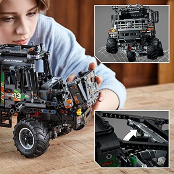 LEGO 42129 Technic 4x4 Mercedes-Benz Zetros Offroad-Truck, ferngesteuertes Auto, App-kontrolliertes LKW-Spielzeug - 5