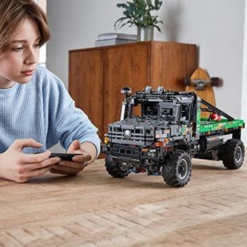 LEGO 42129 Technic 4x4 Mercedes-Benz Zetros Offroad-Truck, ferngesteuertes Auto, App-kontrolliertes LKW-Spielzeug - 6