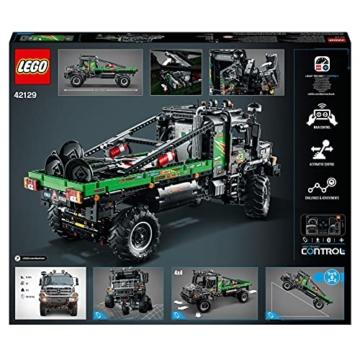 LEGO 42129 Technic 4x4 Mercedes-Benz Zetros Offroad-Truck, ferngesteuertes Auto, App-kontrolliertes LKW-Spielzeug - 8