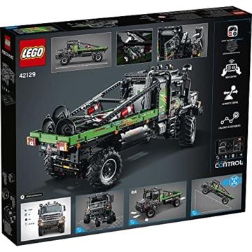 LEGO 42129 Technic 4x4 Mercedes-Benz Zetros Offroad-Truck, ferngesteuertes Auto, App-kontrolliertes LKW-Spielzeug - 9