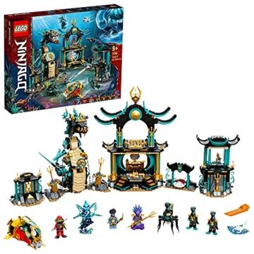 LEGO 71755 NINJAGO Tempel des unendlichen Ozeans Held der Steine