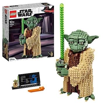 Lego 75255 Star Wars Yoda Bauset, Sammlermodell mit Displayständer, Angriff der Klonkrieger Kollektion - 1