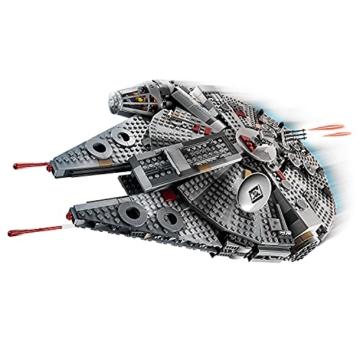 LEGO 75257 Star Wars Millennium Falcon Raumschiff Bauset mit Finn, Chewbacca, Lando Calrissian, Boolio, C-3PO, R2-D2 und D-O, Der Aufstieg Skywalkers Kollektion - 5