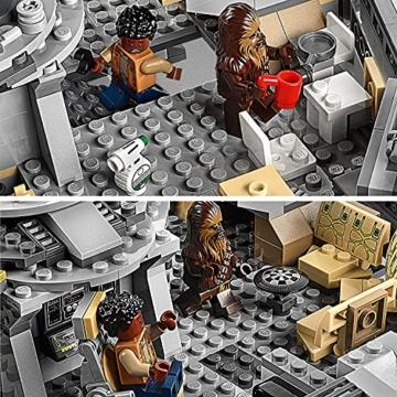 LEGO 75257 Star Wars Millennium Falcon Raumschiff Bauset mit Finn, Chewbacca, Lando Calrissian, Boolio, C-3PO, R2-D2 und D-O, Der Aufstieg Skywalkers Kollektion - 7