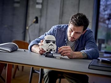 Lego 75276 Star Wars Stormtrooper Helm, Bauset, Sammlerobjekt für Erwachsene - 11