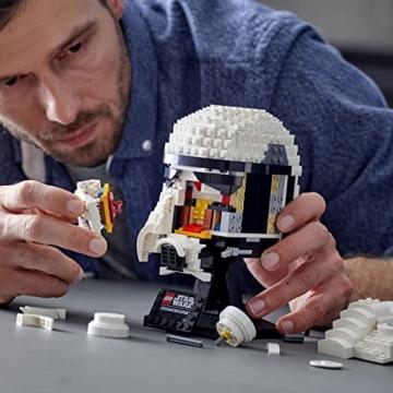 Lego 75276 Star Wars Stormtrooper Helm, Bauset, Sammlerobjekt für Erwachsene - 5