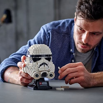 Lego 75276 Star Wars Stormtrooper Helm, Bauset, Sammlerobjekt für Erwachsene - 6