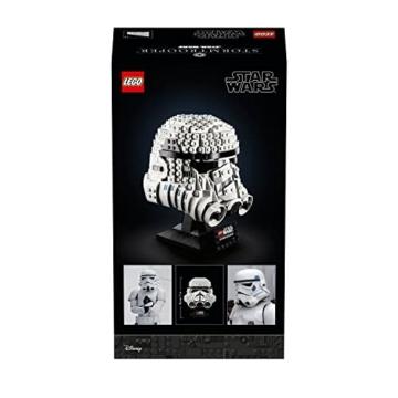 Lego 75276 Star Wars Stormtrooper Helm, Bauset, Sammlerobjekt für Erwachsene - 7