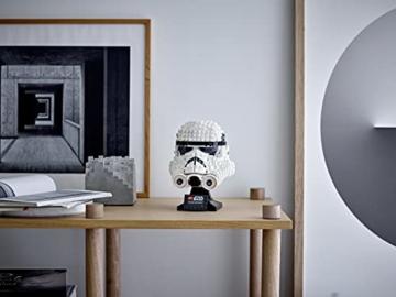 Lego 75276 Star Wars Stormtrooper Helm, Bauset, Sammlerobjekt für Erwachsene - 9