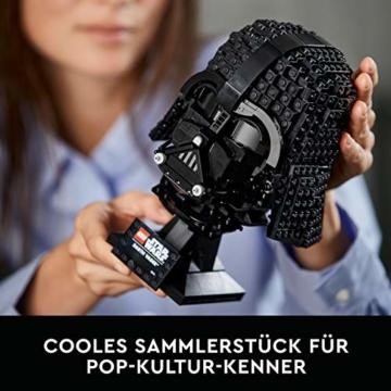 LEGO75304StarWarsDarth-VaderHelmBausetfürErwachsene,Deko,Geschenkidee,ModellzumBauenundAusstellen - 3