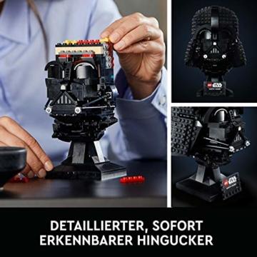 LEGO75304StarWarsDarth-VaderHelmBausetfürErwachsene,Deko,Geschenkidee,ModellzumBauenundAusstellen - 4